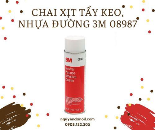 Chai xịt tẩy keo, nhựa đường 3M 08987