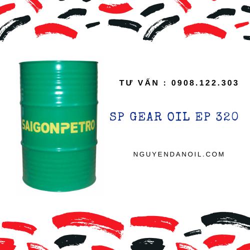 Dầu bánh răng SP GEAR OIL EP 320 chính hãng