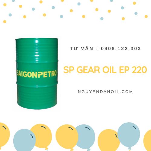 Dầu bánh răng SP GEAR OIL EP 220 chính hãng