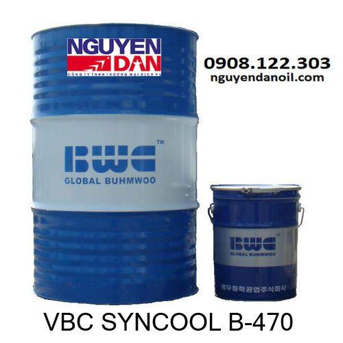 Dầu cắt gọt pha nước VBC SYNCOOL B-470 gốc tổng hợp