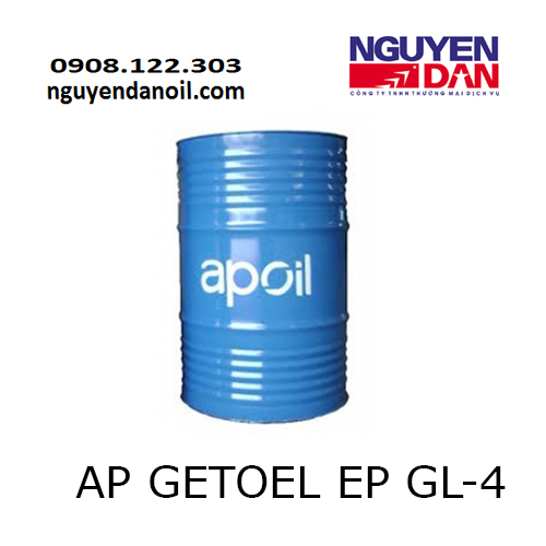 Dầu hộp số AP GETOEL EP GL-4 giá ưu đãi