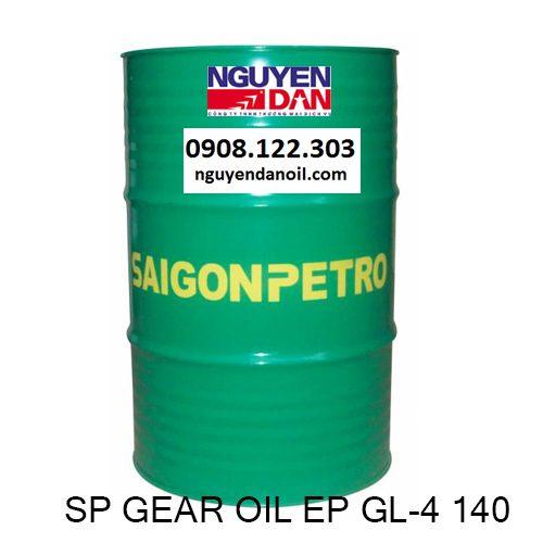 Dầu hộp số SP Gear Oil EP GL-4 140 chính hãng