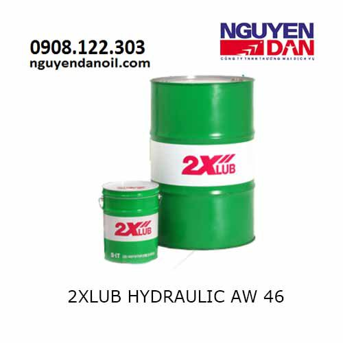 Dầu thủy lực 46 nhập khẩu 2XLUB HYDRAULIC AW