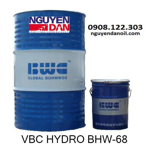 Dầu thủy lực 68 chính hãng VBC Hydro BHW-68
