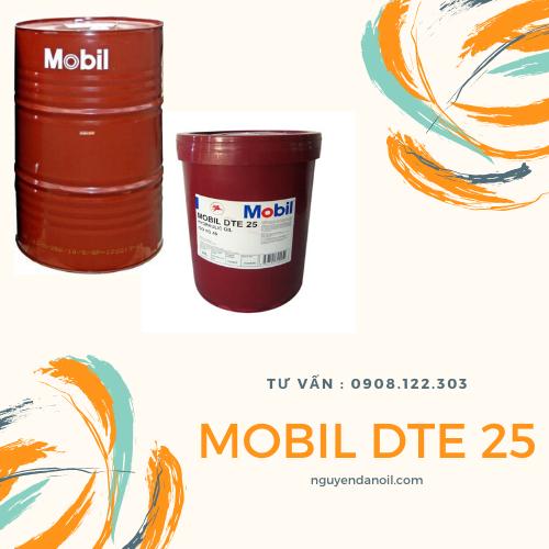 Dầu thủy lực Mobil DTE 25 chính hãng