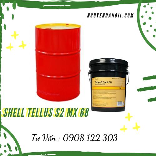 Dầu thủy lực Shell Tellus S2 MX 68 chính hãng