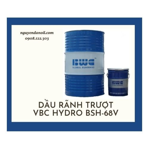DẦU RÃNH TRƯỢT VBC HYDRO BSH-68V