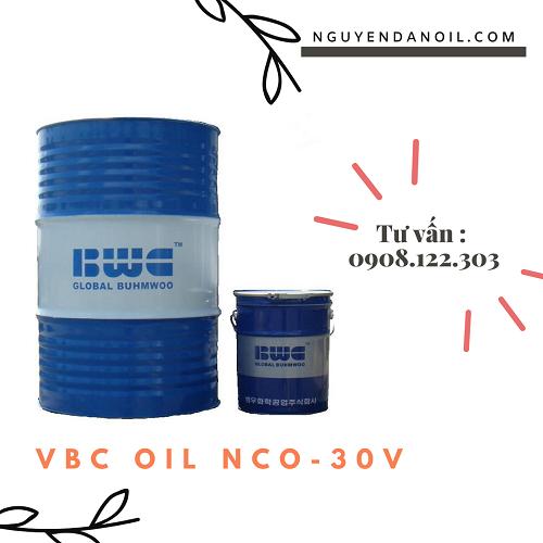 Dầu cắt gọt kim loại VBC OIL NCO-30V chính hãng
